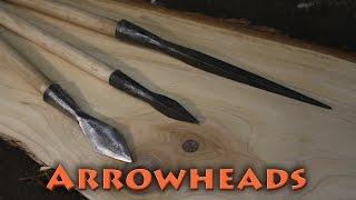 BorntoForge - Forging Arrowheads