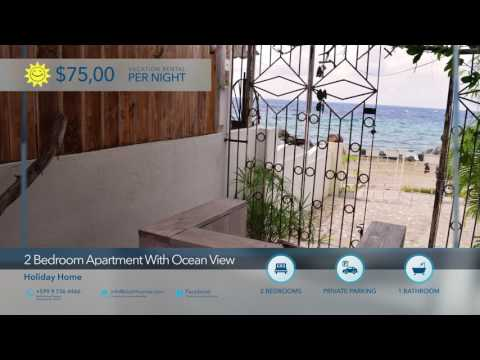 Ocean View Apartment Curacao for rent