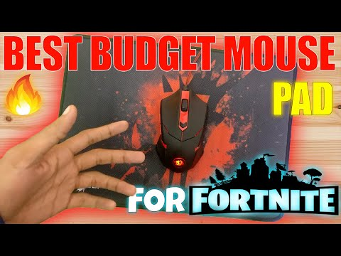 Best Budget Gaming Mousepad for FORTNITE and PUBG FT. REDGEAR MP35  unboxing + review ( HINDI )