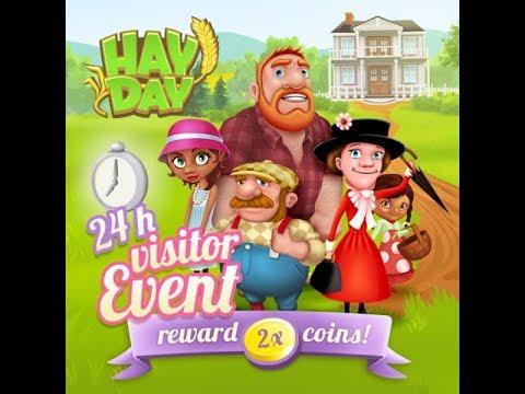 Hay Day - Besucher Event 2x Geld- Derby und Geld machen - Deutsch