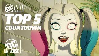 Harley Quinn Ep. 2 Sneak Peek + New Comics! | DC TOP 5 HEADLINES