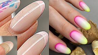 Маникюр / Почему у меня отслойки?💅 Дизайн ногтей из Instagram 💅 Градиент на ногтях