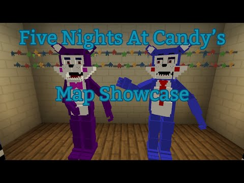 Five Nights At Candy's Map Showcase