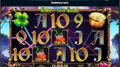 Emerald Isle Slot Game £7K Slot Win