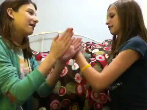 Elizabeth and Kara's Hand Clapping Games