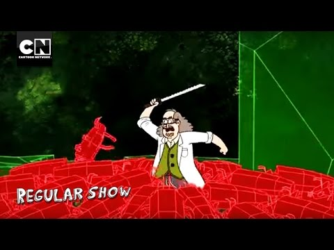 Virtual Reality Bugs I Regular Show I Cartoon Network