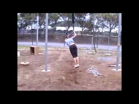 How to finish 2nd phase pole vault swing.