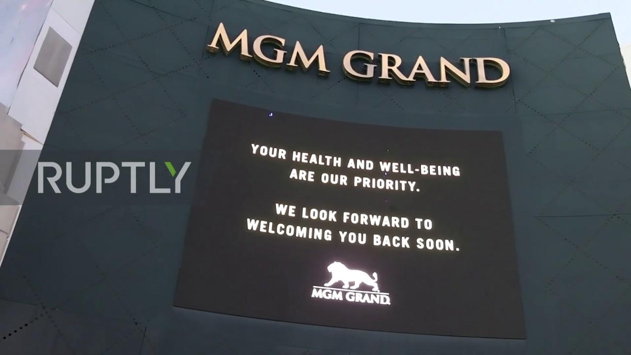 USA: Las Vegas casinos and resorts close due to coronavirus outbreak