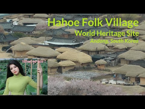 WHAT TO SEE in Hahoe, Folk Village, South Korea