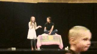 London Singing Popular from the Musical Wicked   -  6th grade talent show 2012