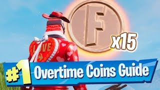 Collect Coins in Featured Creative Islands - Overtime Challenges - Fortnite Battle Royale