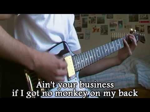 Skid Row - Monkey Business (Cover + lyrics)