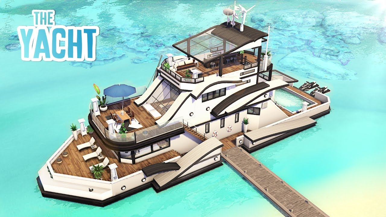 The Yacht 🚤🌊 | The Sims 4 - Speed Build (NO CC)