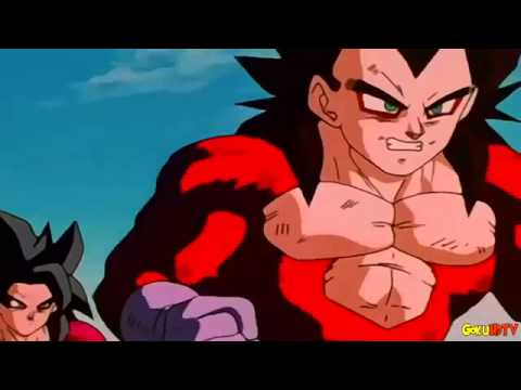Goku And Vegeta vs Omega Shenron Full Fight
