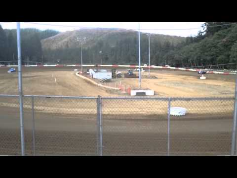 6-27-15 late model trophy dash coos bay speedway