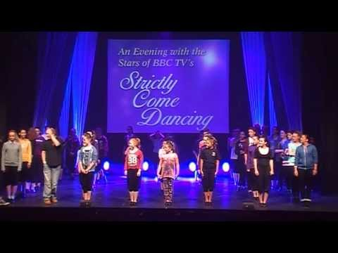 Whitesides School of Dance in rehearsal for Strictly 17May 2013