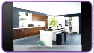 Blue Modern Furniture Stores Online