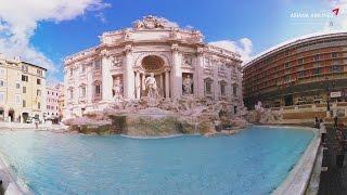 아시아나항공 나의 여행 아바타 오즈, 로마를 보여줘 [ 트레비분수 편 (360VR) ]