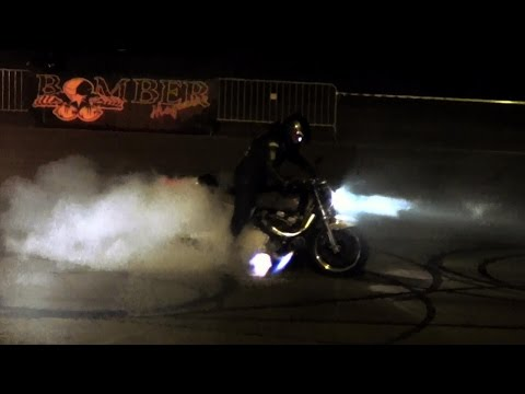 Bomber Magazine Summer End Party 2016 - Bike Burnouts