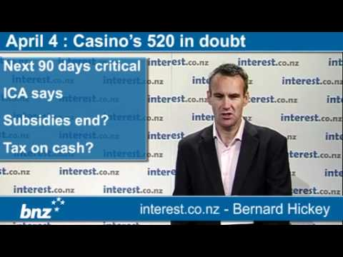 90 seconds at 9 am with BNZ: 520 Christchurch Casino jobs in