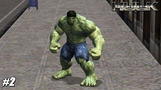 The Incredible Hulk - Wii Playthrough Gameplay 1080p (DOLPHIN) PART 2