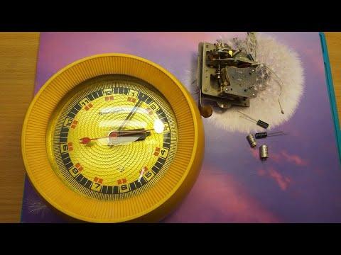 Ремонт часов янтарь электронно механические,производства СССР.