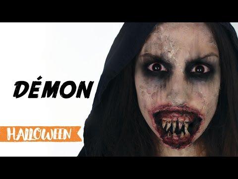 Maquillage d'Halloween : Démon streaming vf