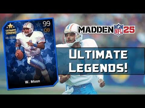 MUT 25 Ultimate Legends! Madden 25 Ultimate Team - 99 Overall Warren Moon & 99 Overall Dan Dierdorf