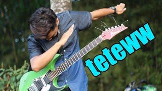 TETEWW.. ANJING KACILI ROCK GUITAR...