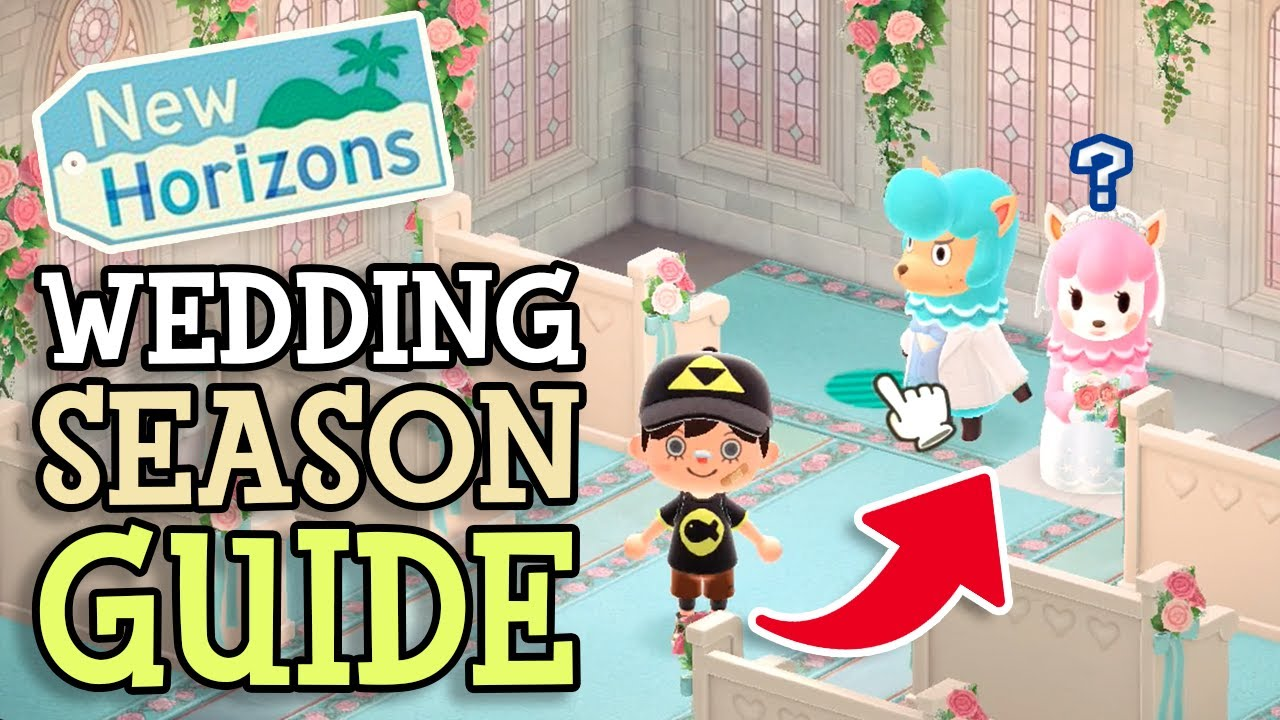 Animal Crossing New Horizons Wedding Season Guide Everything You Need To Know About Heart Crystals Youtube