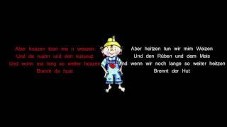 Hubert von Goisern - Brenna tuats guat lyrics deutsch