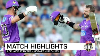 Canes secure finals berth after Adelaide Oval run-fest | KFC BBL|09