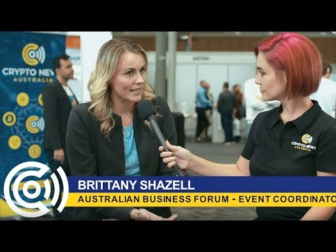 Australian Business Forum Interview With Crypto News Australia
