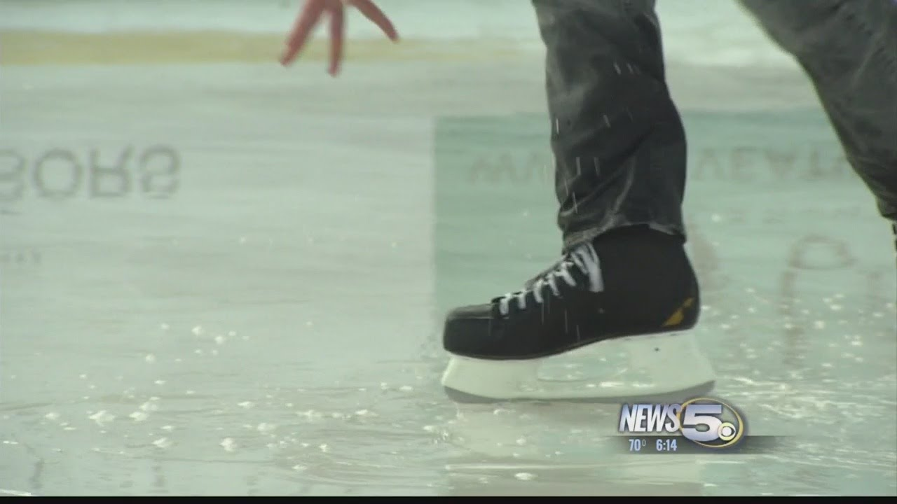 ice is melting on the rink youtube