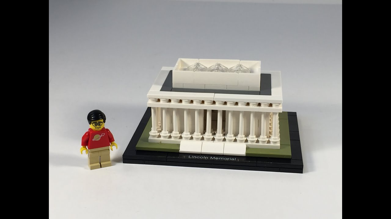 moc memorial lincoln with my mini lego mocmy r a comments little