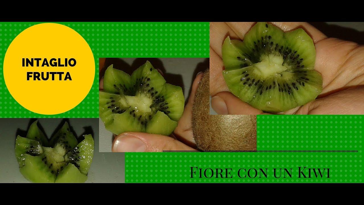 Come Fare un Fiore con un Kiwi /Flower with a Kiwi YouTube
