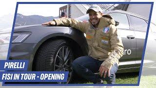 FISI in Tour: Consegna della flotta Audi by Pirelli