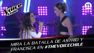 The Voice Chile | Astrid y Francisca - All through the night