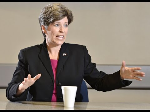 Joni Ernst Meets with SCJ Editorial Board