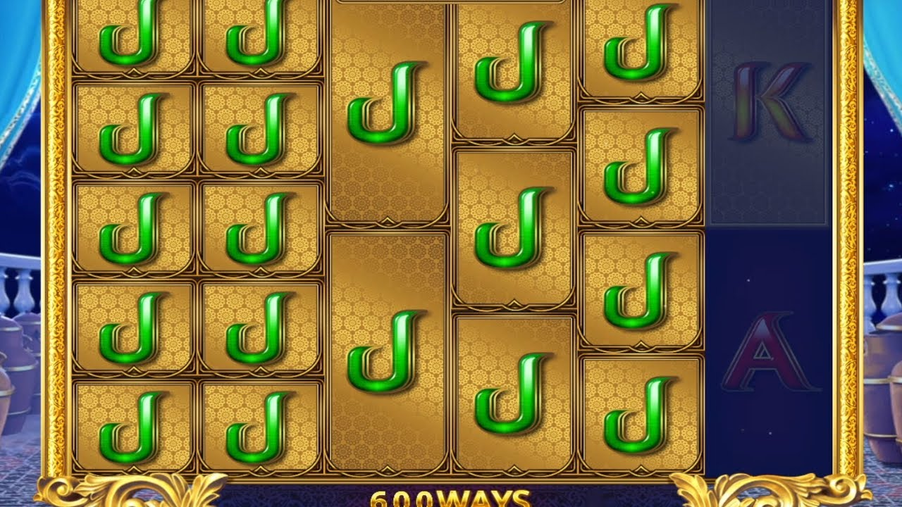 👑 Nice Win Playing Ali Baba's Luck Megaways 💰 (Red Tiger Gaming).