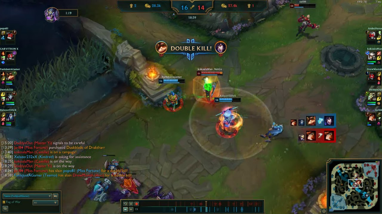 First penta kill I ever did.(League of Legends)