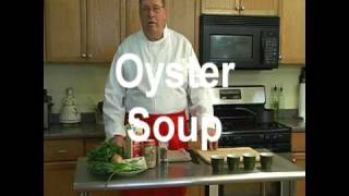 "Oyster Soup "" New Orleans Style"""