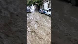 Ливень в Баку.23.09.2018