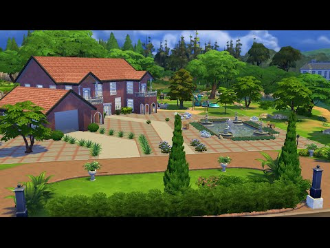 The Sims 4 Building the Riverside Mansion