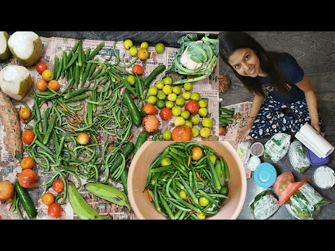 how-i-clean-the-vegetables-and-store-it-fresh-for-2-weeks-|-krishna-roy-mallick