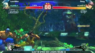SSF4: Doug vs LunchBox - LOST IN SPACE 003