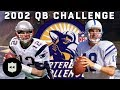 Manning, Brady, Flutie & More Compete in Accuracy, Distance, & Agility