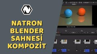 Natron - Blender Sahnesi Kompozitleme