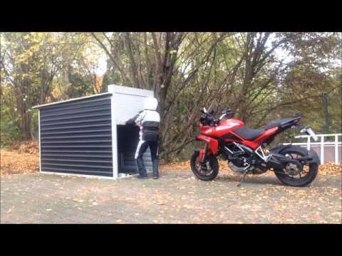 Motorradgarage Vario Teil 2 | Doovi