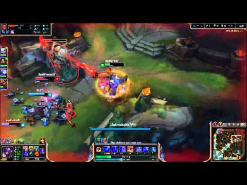 Alistar Support How to tower dive